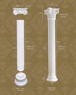 Bột cột tròn trang trí 7